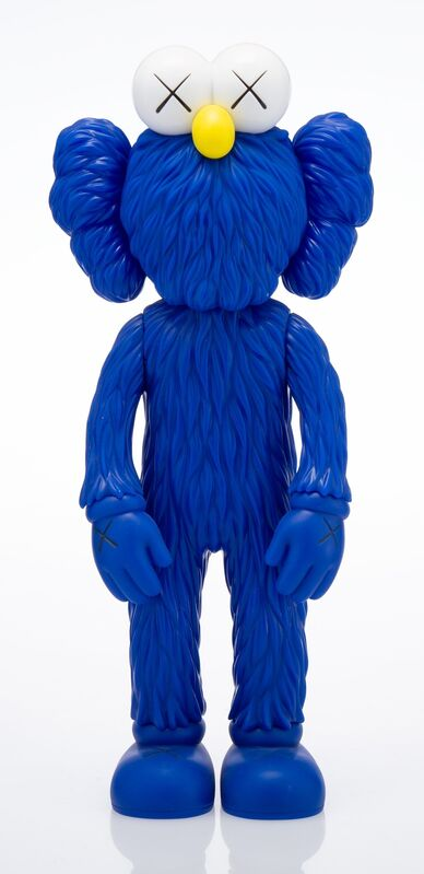 KAWS, 'BFF Companion (MoMA)', 2017, Sculpture, Painted cast vinyl, Heritage Auctions
