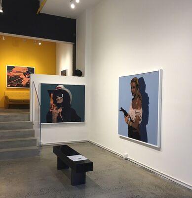 """Saddle Up"" New Works by Billy Schenck - New York, installation view"