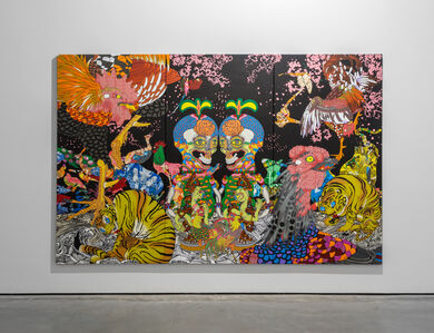 Keiichi Tanaami, 'Jakuchu - Magnificent Flowers and Birds',  2015