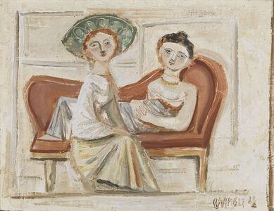 Massimo Campigli, 'Due amiche', 1948