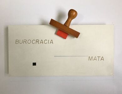 Almandrade, 'Burocracia mata', 1978