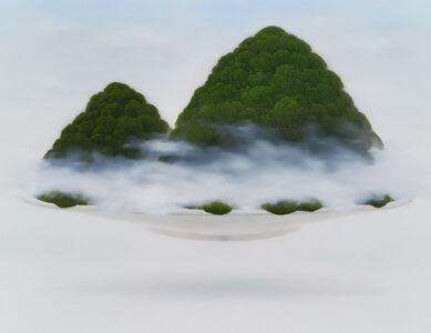 Jong Yong Yang, 'Moss on Bowl (mountain)', 2015