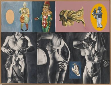 David Salle, 'Sextant in Dogtown', 1987
