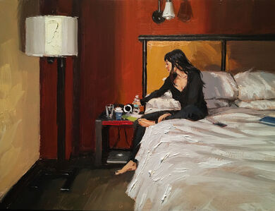 Vincent Giarrano, 'At the Hotel in NYC', 2020