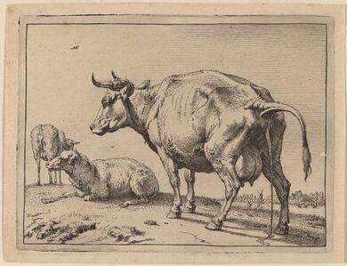Paulus Potter, 'Pissing Cow', 1650