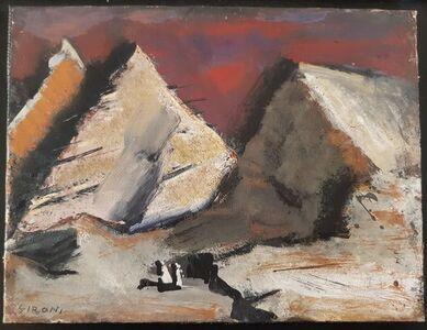 Mario Sironi, 'Mountains', 1952