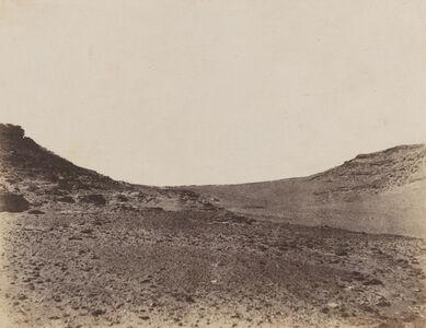 John Beasley Greene, 'Études de terrain près de Gebel Abousir, 2e cataracte (Studies of the landscape near Gebel Abusir, Second Cataract)', 1854