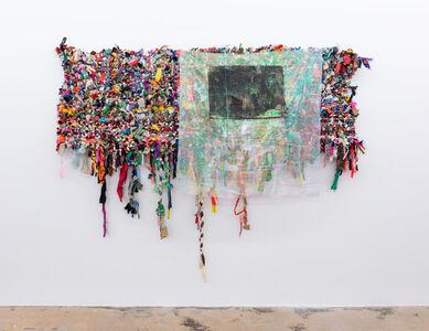 Jim Drain, 'Peaceable Kingdom Banner', 2018