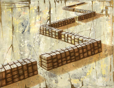 Humberto Castro, 'Grietas en el Muro (Cracks in the Wall)', 2008