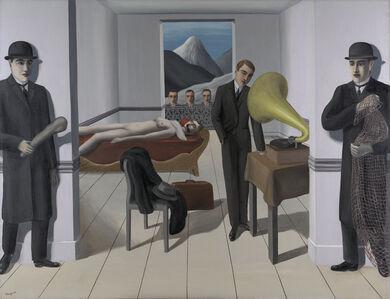 René Magritte, 'The Menaced Assassin (L'Assassin menacé)', 1927