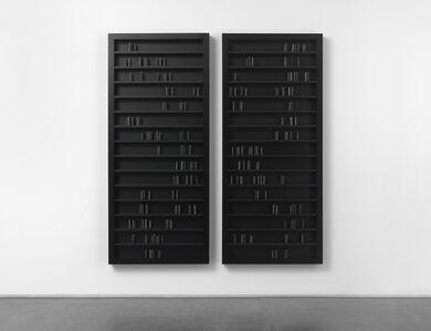 Edmund de Waal, 'black milk', 2015