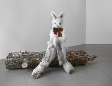 Marnie Weber, 'Log Lady & Dirty Bunny', 2009