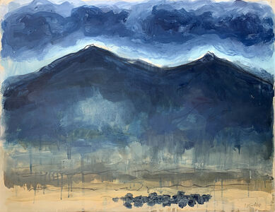 Theodore Waddell, 'Geyser Mountain Angus Drawing #5', 2020