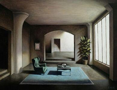 Marc Chalmé, 'Le tapis bleu'