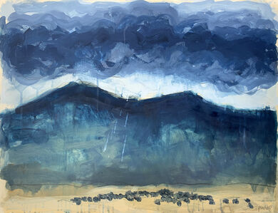Theodore Waddell, 'Geyser Mountain Angus Drawing #4', 2021