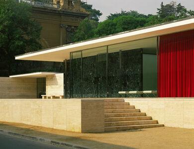 Ludwig Mies van der Rohe, 'German pavillion for the International Art Exhibit', 1929