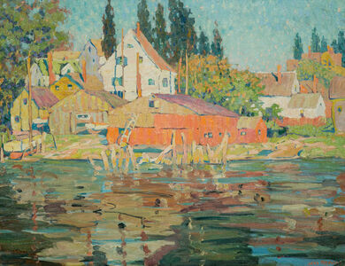 Jane Peterson, 'Summer, Late Afternoon', 19th -20th Century