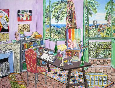 Damian Elwes, 'Matisse's Studio in Vence', 2018