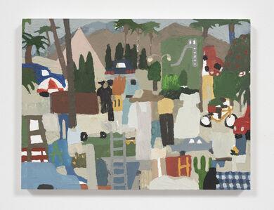 Mariel Capanna, 'Cypress, Cactus, Ladder, Fire', 2018