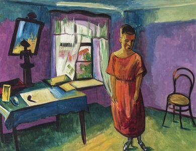 Max Pechstein, 'Interieur', 1922