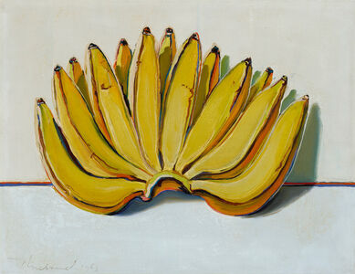 Wayne Thiebaud, 'Bananas', 1963