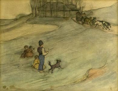 Robert Bevan, 'The Passing Carriage', 1903