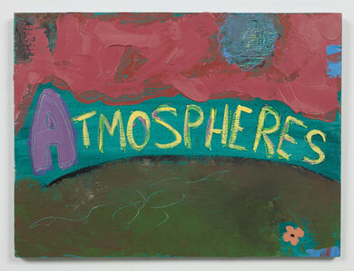 Ree Morton, 'Atmospheres (Signs of Love)', 1976