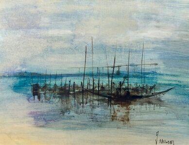 Jean Jansem, 'La lagune à Venise', 1968-1969