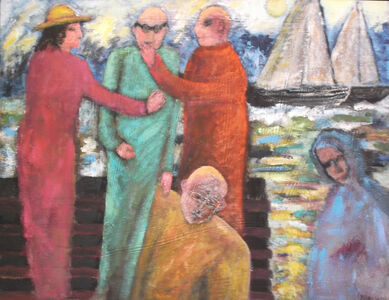 Florence Putterman, 'Rendezvous at Pier 31'