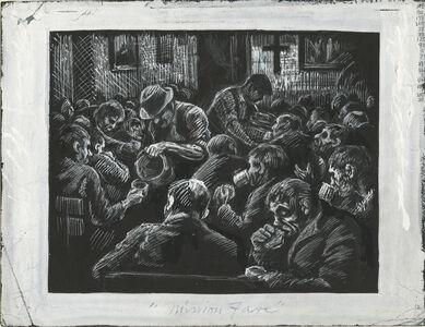 Eli Jacobi, 'Mission Fare', ca. 1930