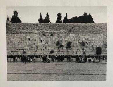 Mikael Levin, 'Jerusalem, Israel Western Wall Ed of 5 Vintage Silver gelatin Photograph Print', 2000-2009