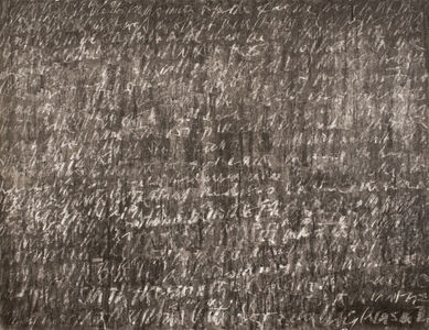 Maliheh Afnan, 'Blackboard', 1987