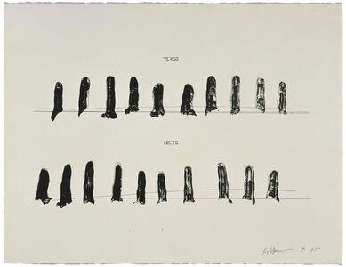 Bruce Nauman, 'Verso Recto (State II)', 1998