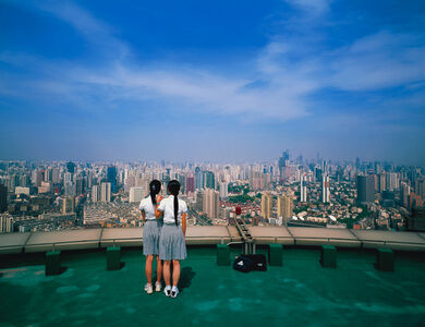 Weng Fen, 'Bird's eye view-Shanghai No.1', 2005