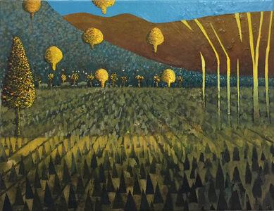 David Brian Smith, 'Saffron, Spring ', 2018
