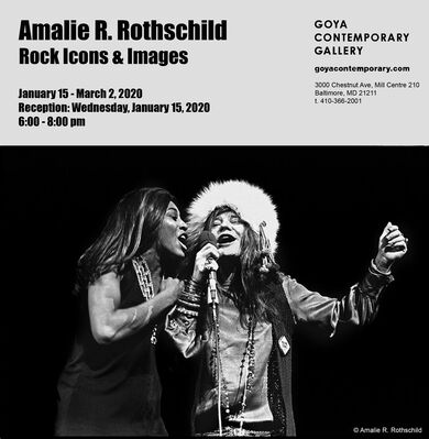Amalie R. Rothschild: Rock Icons & Images, installation view