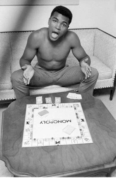 Steve Schapiro, 'Muhammad Ali, Monopoly, Louisiville, KY', 1963