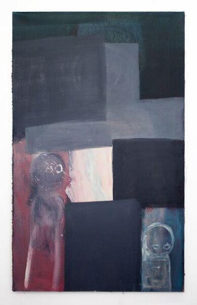 Miriam Cahn, 'schnell gehen (stilwechsel)', 2008