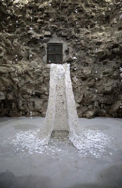 Sabrina Mezzaqui, 'Il mantello della Regina delle Nevi', 2014