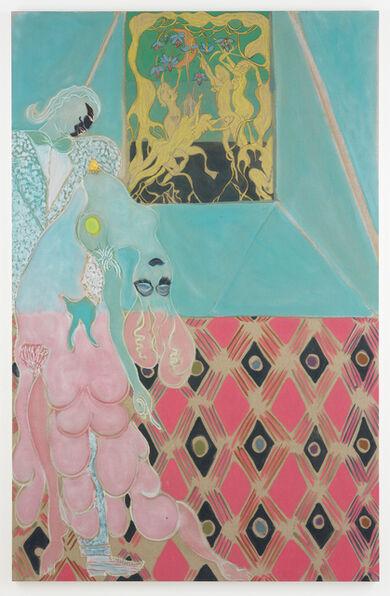 Chris Ofili, 'Ovid-Desire', 2011-2012