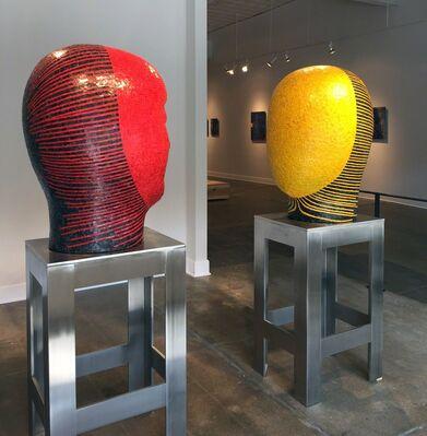 Jun Kaneko, installation view