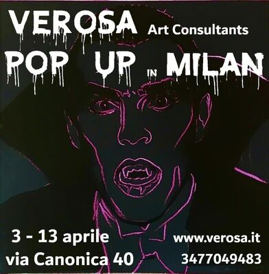 Verosa Pop Up in Milan, installation view