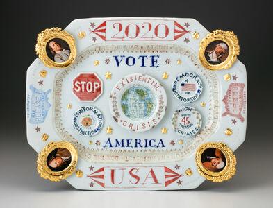 Mara Superior, '2020/USA/Vote/America', 2019