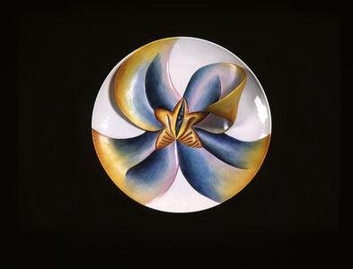 Judy Chicago, 'Caroline Herschel Test Plate (Early)', 1975