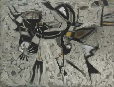 Nikos Kessanlis, 'Composizione No. 40', 1957
