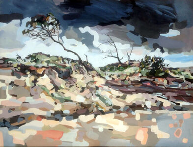 Oliver Watts, 'Storm Scene Backdrop', 2015