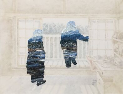 Akira Kamo, 'Between Landscape and Portrait 8', 2017