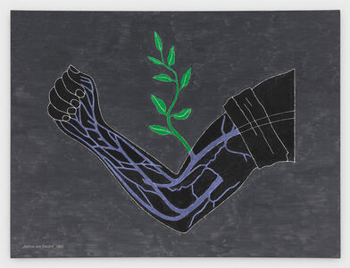 Anton van Dalen, 'Branch Drafted onto Arm', 1983