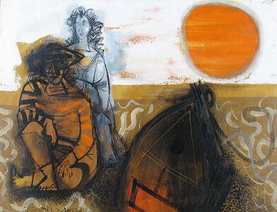 Byron Browne, 'On the Beach', 1959