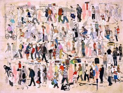 Wang Qing 王青, 'Coming and Going 3 (New York) 来来往往 3(纽约)', 2007